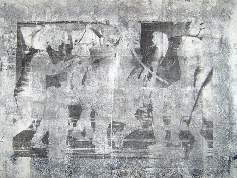 All inclusive 1 (Serie) 75x100 cm , Transferdruck auf Aludibond, 2013