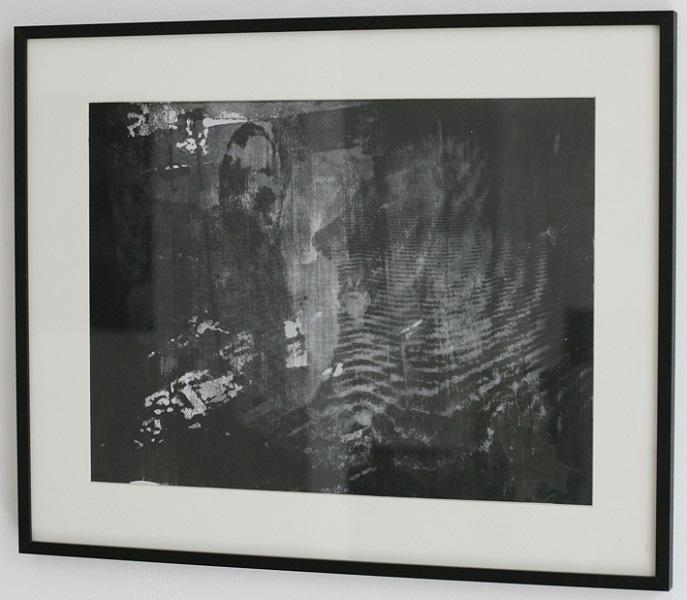 o.T. (reloaded) 30x40cm, Siebruck auf S/W Fotografie, 2013