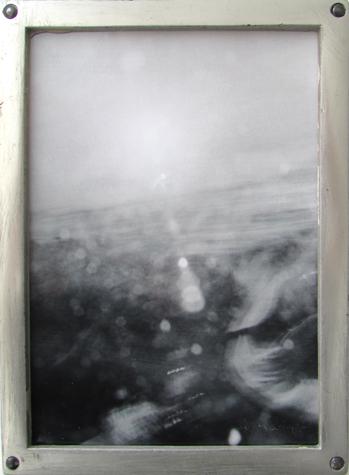 o.T. (Stahlrahmen) 12 x16 cm, S