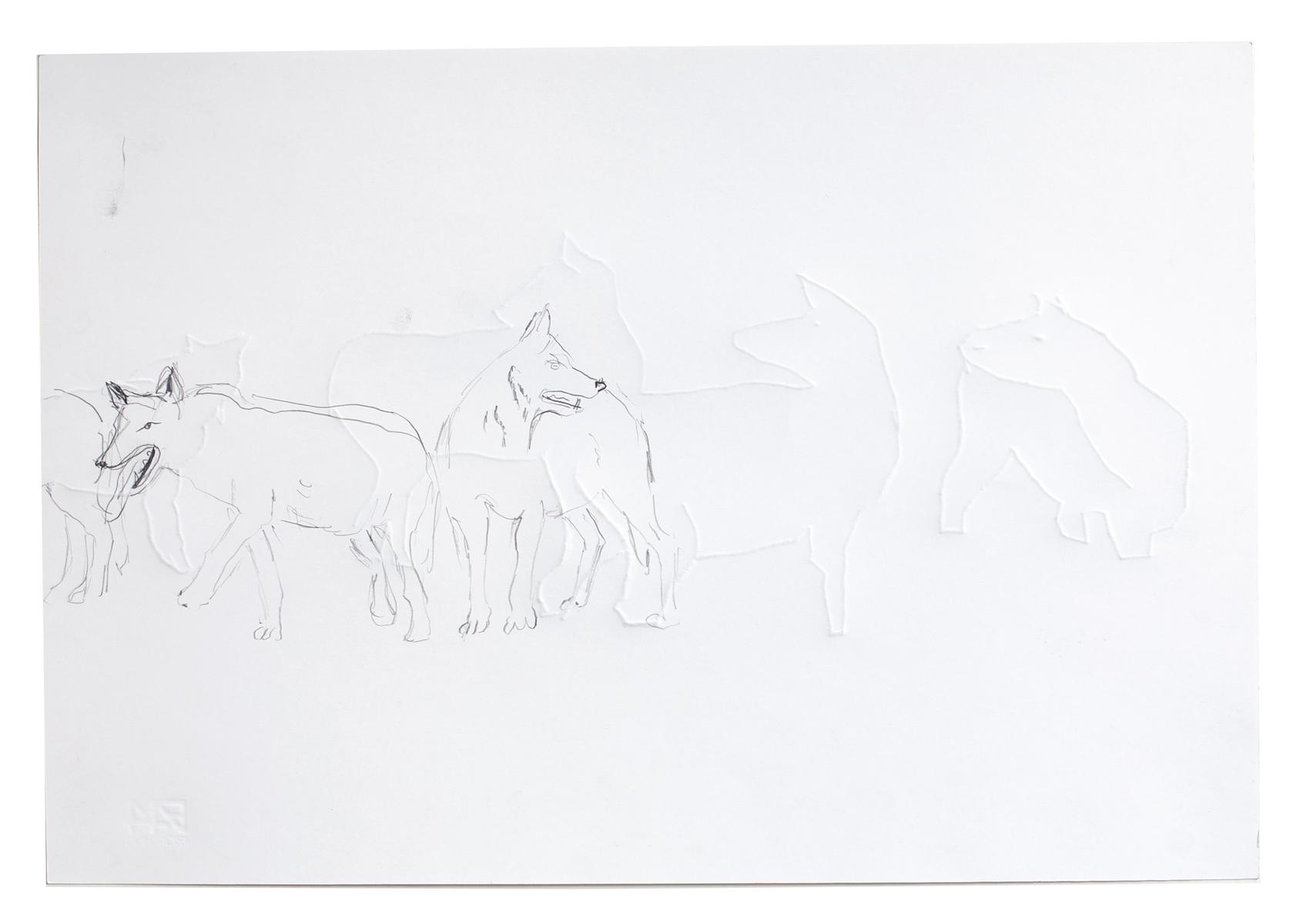 ohne Titel_2008 / 48,5 x 33 cm_Bleistift/Papier