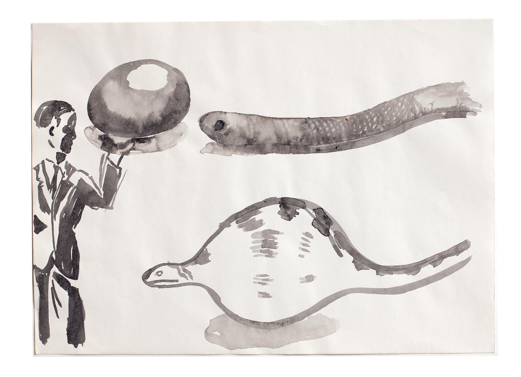 ohne Titel_2006 / 41 x 29,7 cm_Tusche/Papier