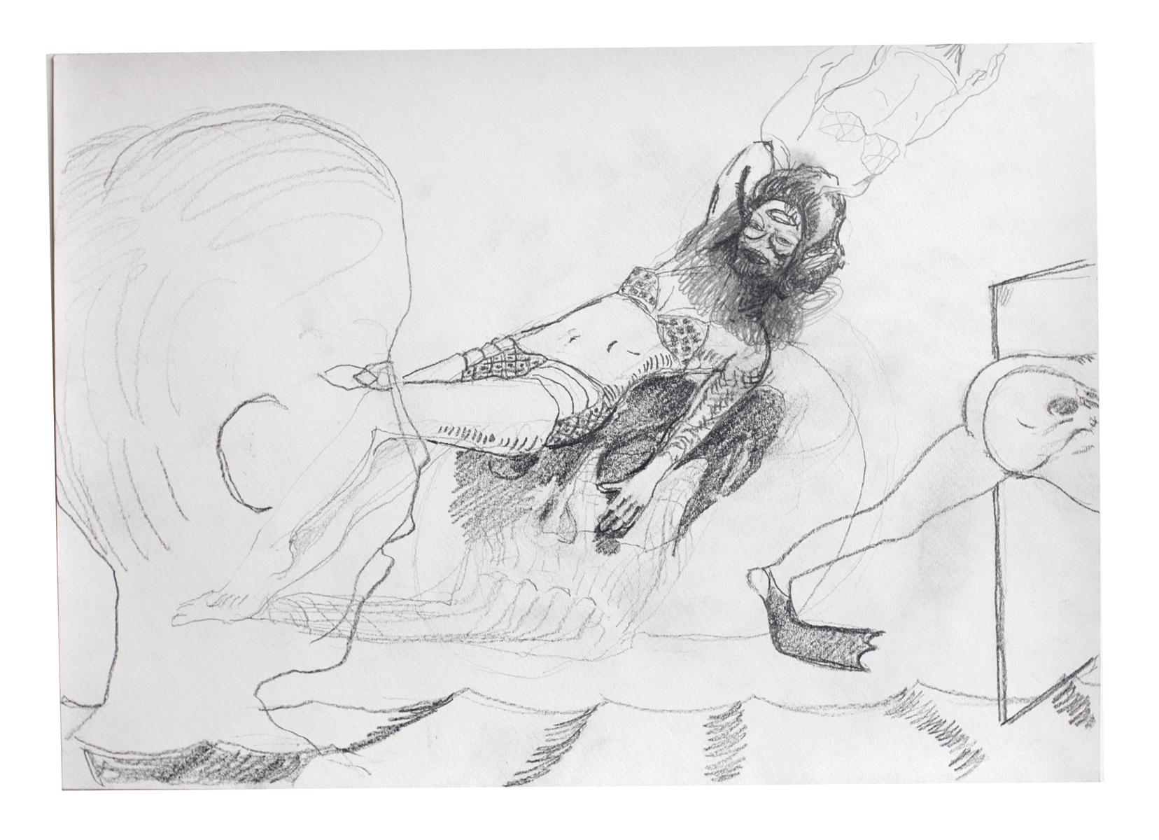 ohne Titel_2012 / 42 x 29,7 cm_Bleistift/Papier